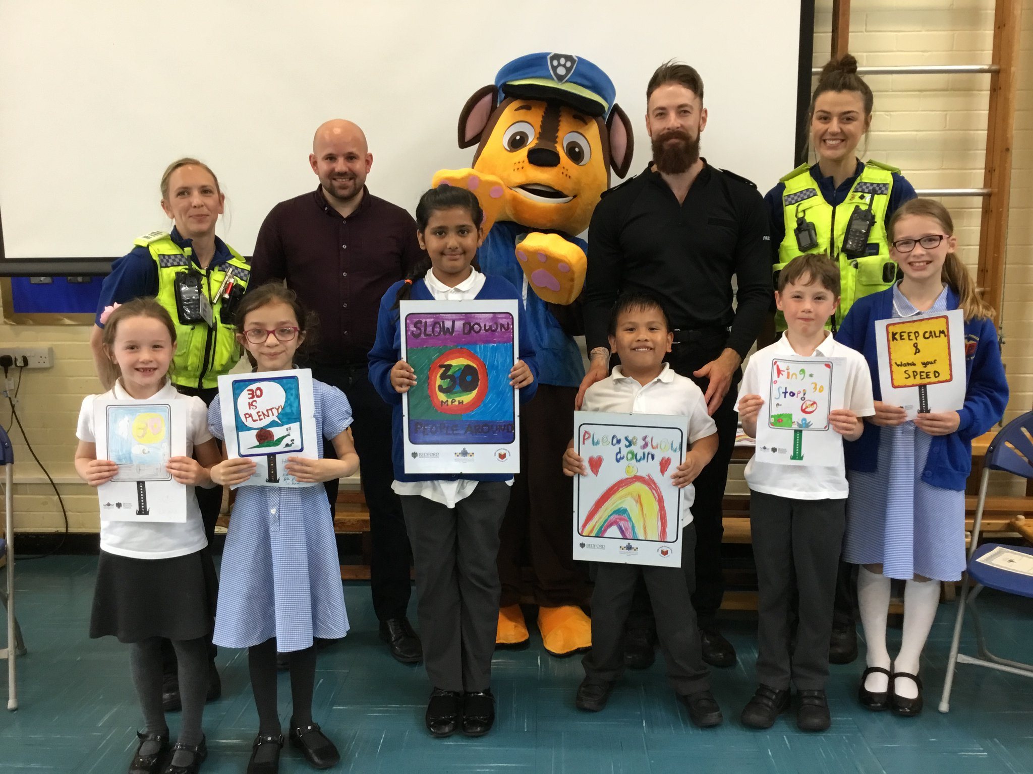 Edith Cavell School Help Police